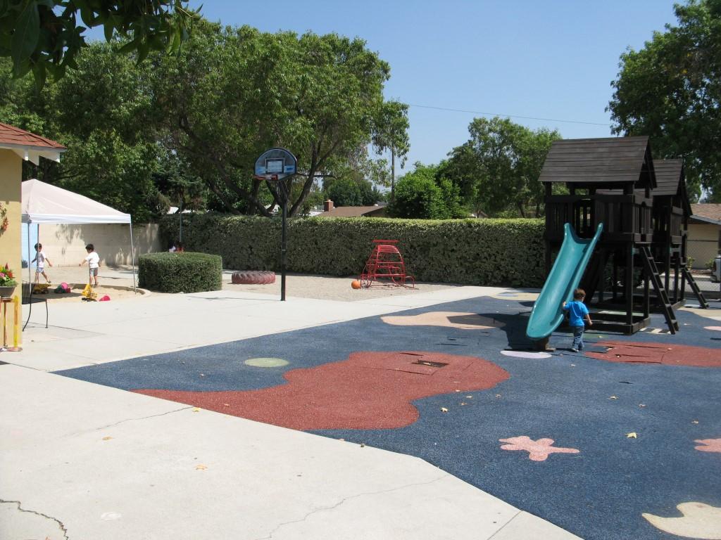Yellow Preschool - Playground